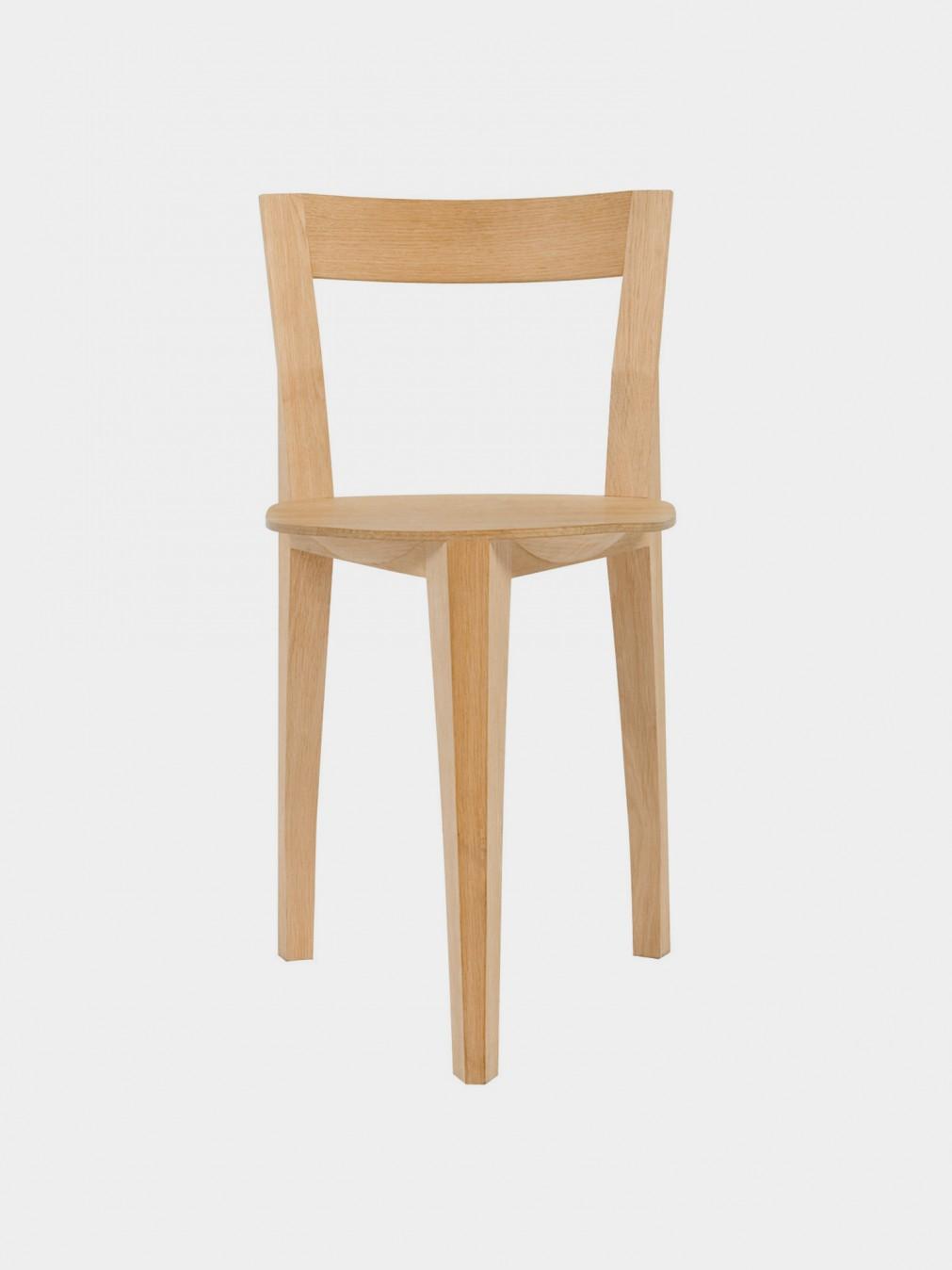Chairs fran ois azambourg petite gigue chair moustache - Petite chaise en osier ...