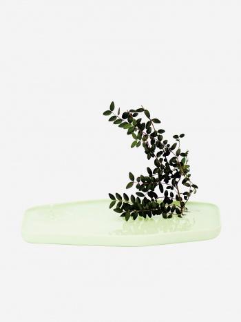 Plan small ceramic vase