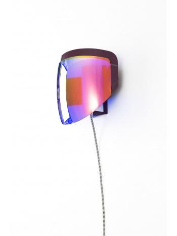 Moto wall lamp with plug
