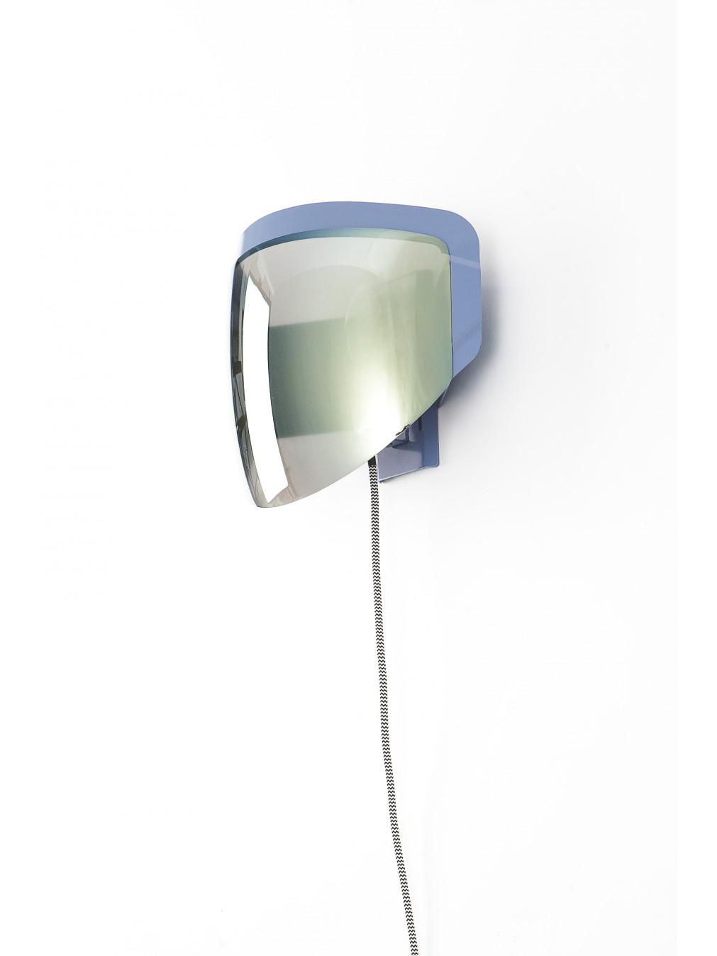 wall lamps jean baptiste fastrez moto wall lamp with plug moustache. Black Bedroom Furniture Sets. Home Design Ideas