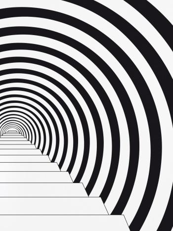 Papier peint Down the rabbit hole