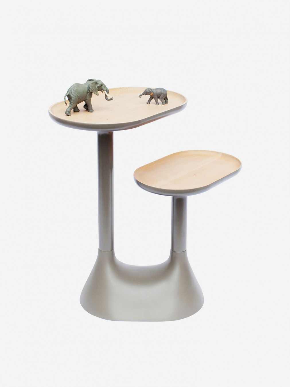 Coffee tables ionna vautrin baobab coffe table moustache for Table basse nomade