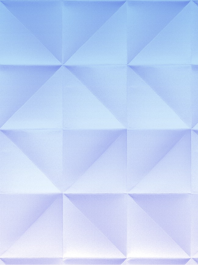 Floating gradient blue