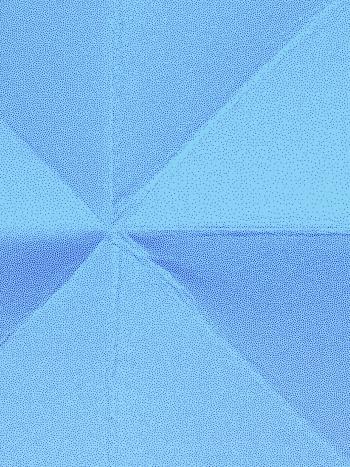 Floating gradient blue
