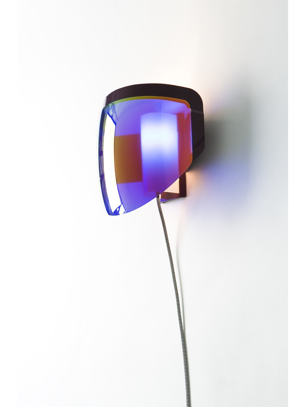 Wall Lamps With Plug : Wall lamps - Jean-Baptiste Fastrez - Moto wall lamp with plug - Moustache