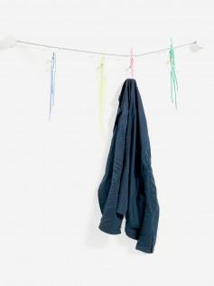 Slastic coat rack