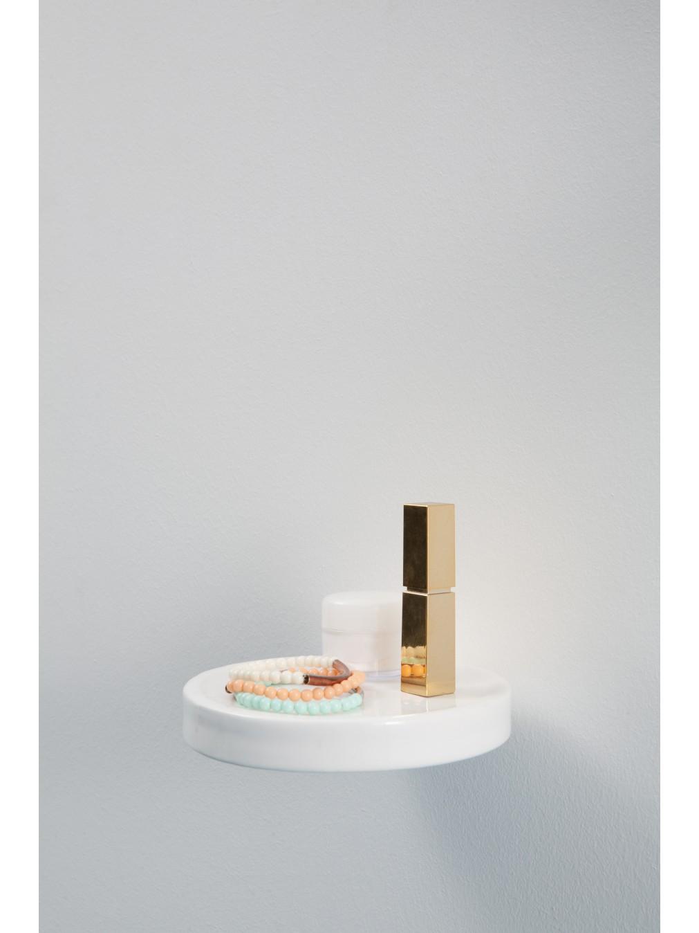 Étagères - Inga Sempé - Vide poche Céramique Balcon - Moustache