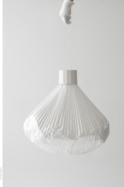 Vapeur lamps designed by Inga Sempé join the F.N.A.C collections